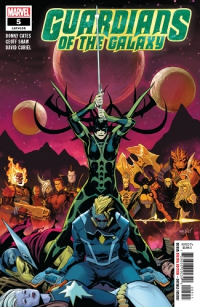 Guardians of the Galaxy vol 5 # 5