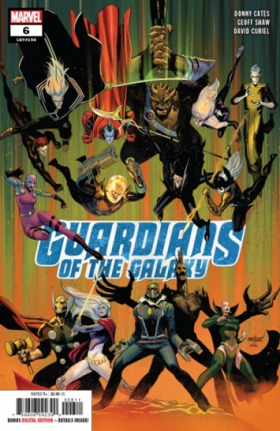 Guardians of the Galaxy vol 5 # 6