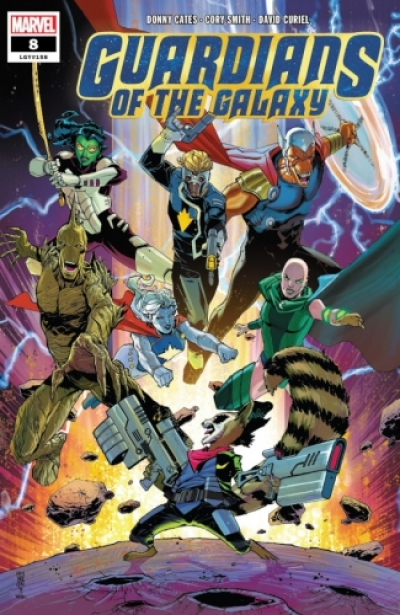 Guardians of the Galaxy vol 5 # 8