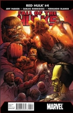 Fall of The Hulks: Red Hulk # 4