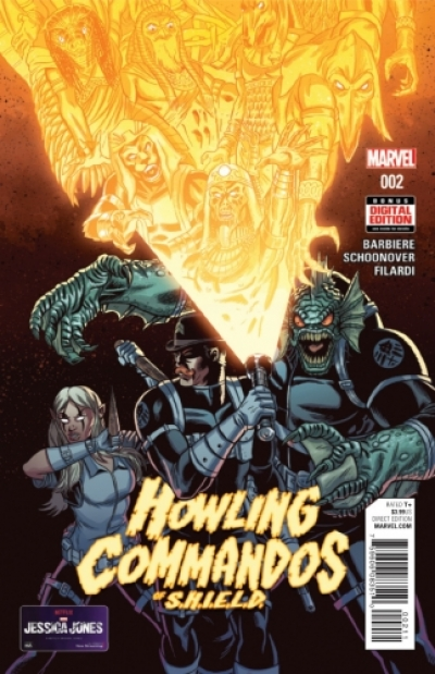 Howling Commandos of S.H.I.E.L.D. # 2