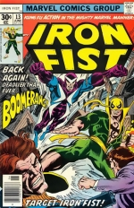 Iron Fist vol 1 # 13