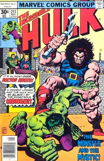 Incredible Hulk vol 2 # 211