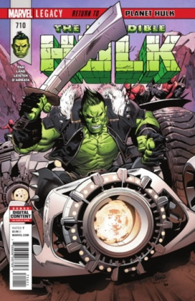 Incredible Hulk vol 2 # 710