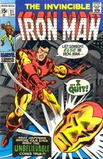 Iron Man vol 1 # 21