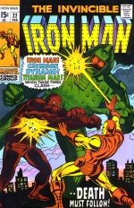 Iron Man vol 1 # 22