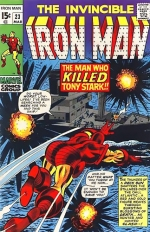 Iron Man vol 1 # 23