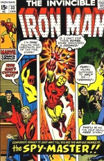 Iron Man vol 1 # 33