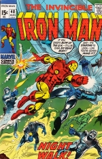 Iron Man vol 1 # 40