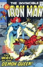 Iron Man vol 1 # 42