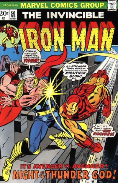 Iron Man vol 1 # 66