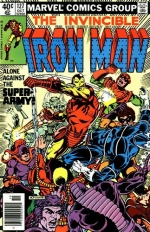 Iron Man vol 1 # 127