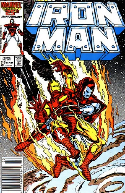 Iron Man vol 1 # 216