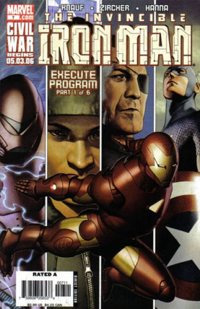 Iron Man vol 4 # 7