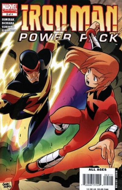 Iron Man and Power Pack # 2