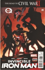 Invincible Iron Man vol 2 # 8