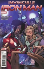 Invincible Iron Man vol 3 # 8