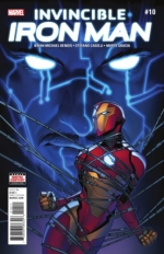 Invincible Iron Man vol 3 # 10