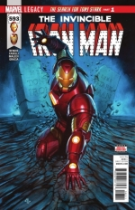 Invincible Iron Man vol 3 # 593