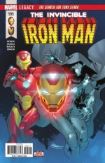 Invincible Iron Man vol 3 # 595