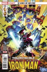 Invincible Iron Man vol 3 # 596