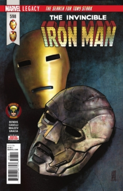 Invincible Iron Man vol 3 # 598