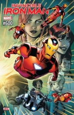 Invincible Iron Man vol 3 # 600