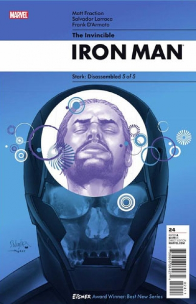Invincible Iron Man vol 1 # 24