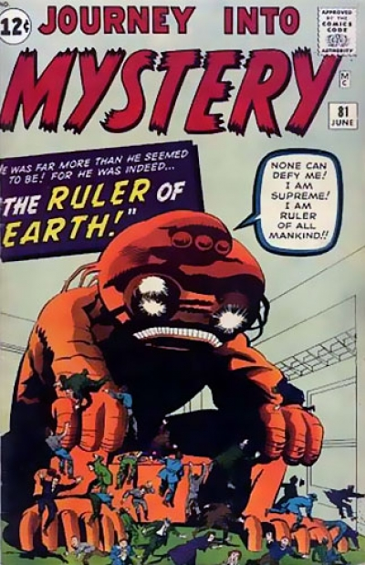 Journey Into Mystery # 81