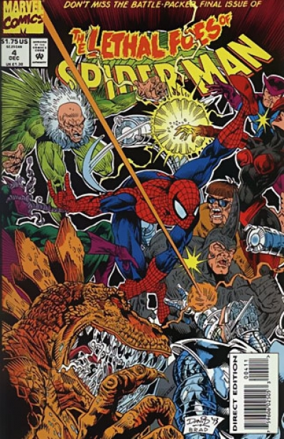 Lethal Foes Of Spider-Man # 4