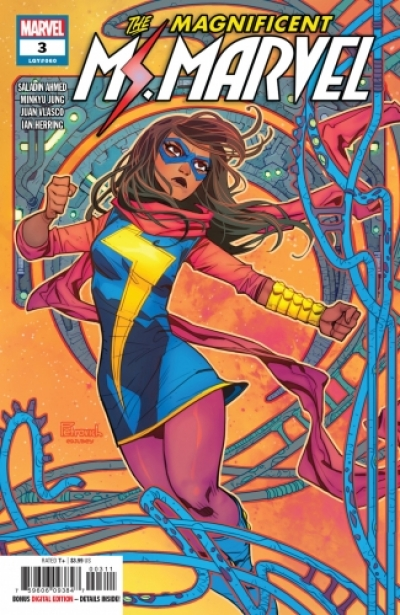 The Magnificent Ms. Marvel # 3