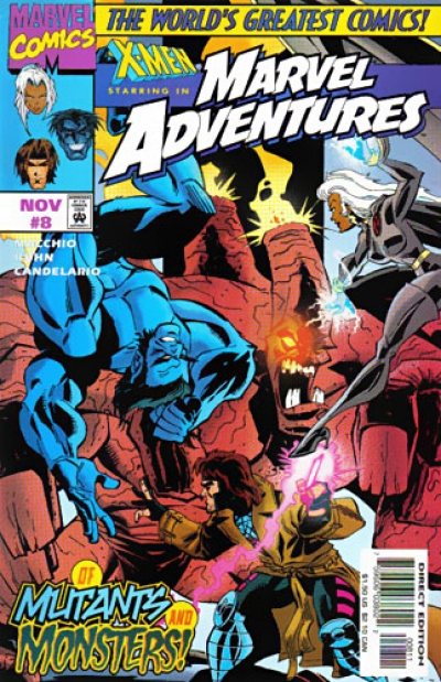 Marvel Adventures # 8