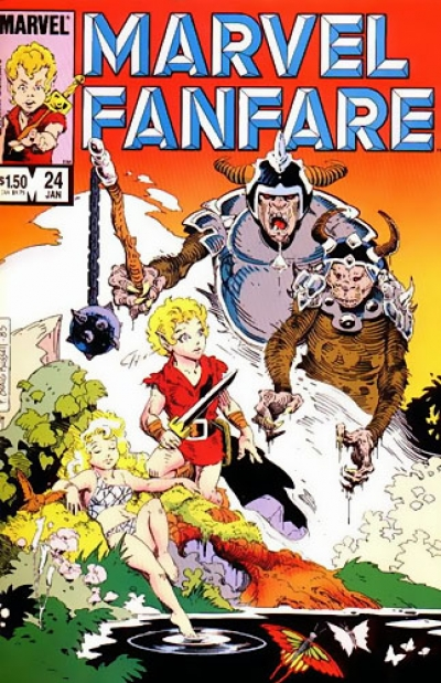 Marvel Fanfare vol 1 # 24