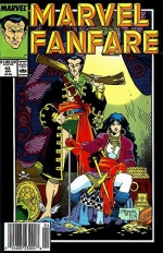Marvel Fanfare vol 1 # 43
