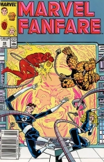 Marvel Fanfare vol 1 # 46