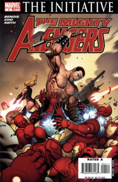 Mighty Avengers vol 1 # 4