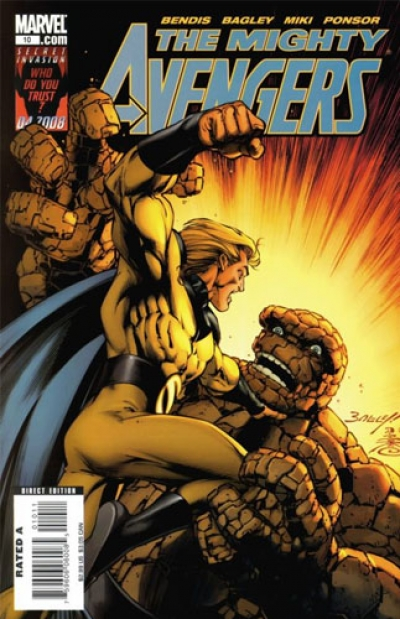 Mighty Avengers vol 1 # 10