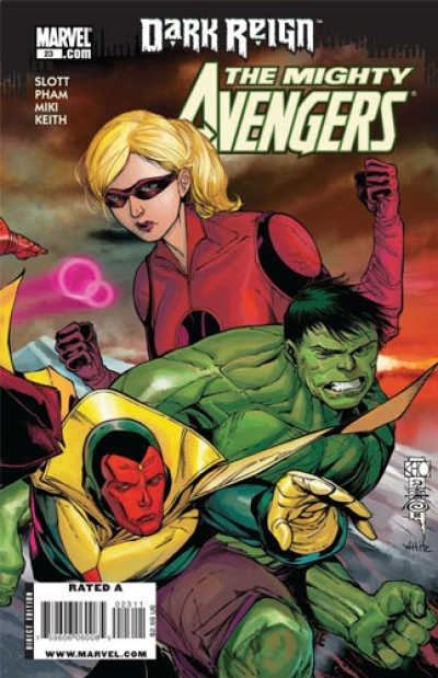 Mighty Avengers vol 1 # 23