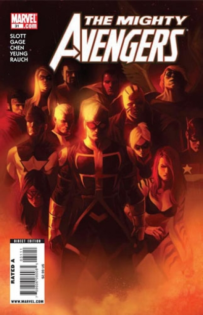 Mighty Avengers vol 1 # 31