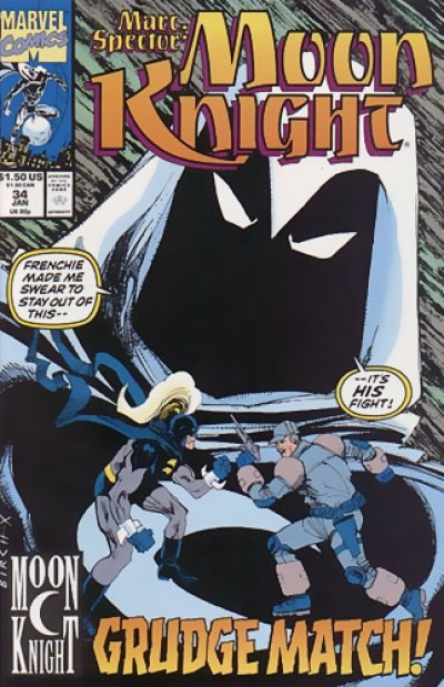 Marc Spector: Moon Knight # 34