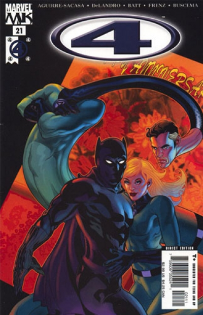 Marvel Knights 4 # 21