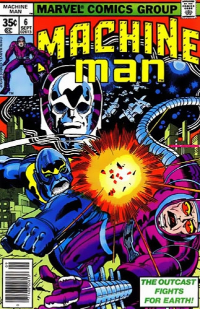Machine Man vol 1 # 6