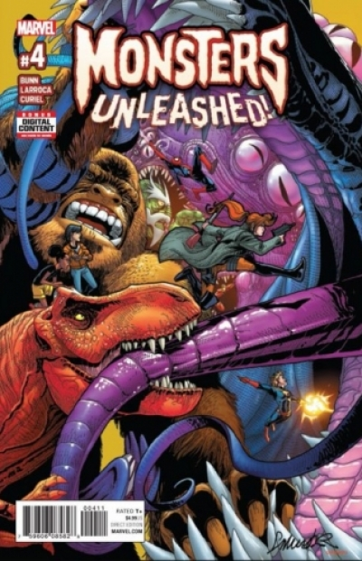 Monsters Unleashed vol 2 # 4