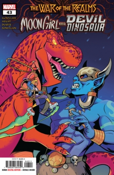 Moon Girl and Devil Dinosaur # 43