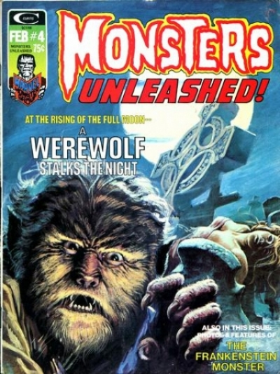 Monsters Unleashed vol 1 # 4