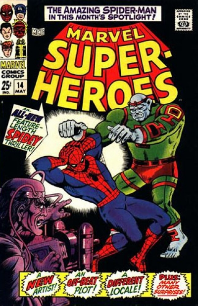 Marvel Super-Heroes vol 1 # 14