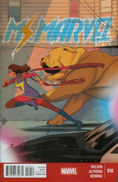 Ms. Marvel vol 3 # 10