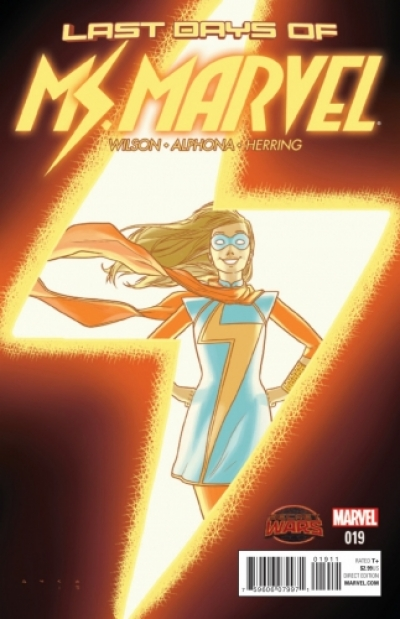 Ms. Marvel vol 3 # 19