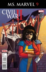 Ms. Marvel vol 4 # 9