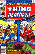 Marvel Two-In-One # 38